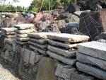 京の町屋で使われていた、古い板石大量在庫あります。